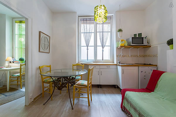 lyon furnished apartment rental